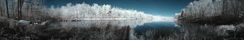 panorama lake landscape ir panoramic infrared top20ir