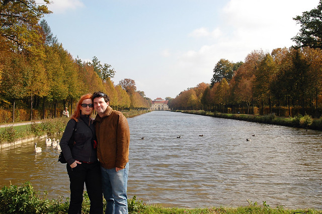 Me and Martin in The Schleissheim Palace Garden