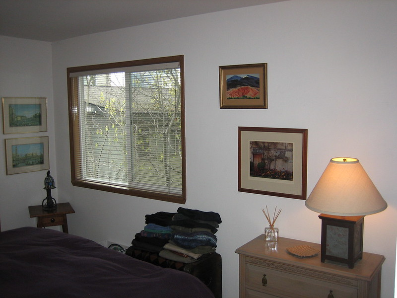 Room with blinds