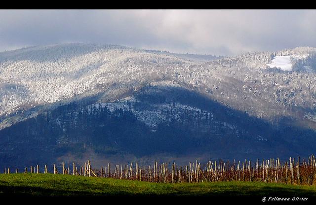 vallée de villé en automne (vue sur le champ du feu)