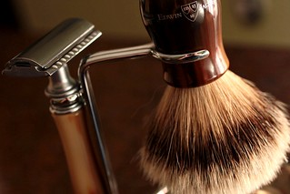 Razor and Brush | by CoffeeGeek