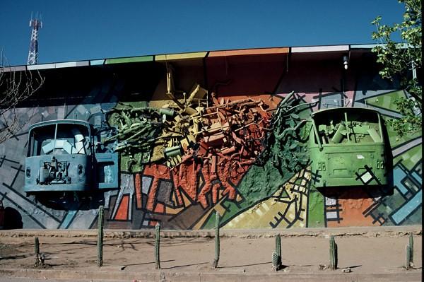 """Bus Station Art"", Coro, Venezuela"