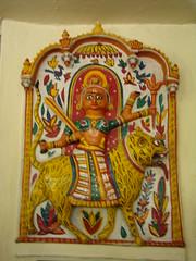 India Udaipur Museo Marionetas Mandal Bhastiya Lok 02
