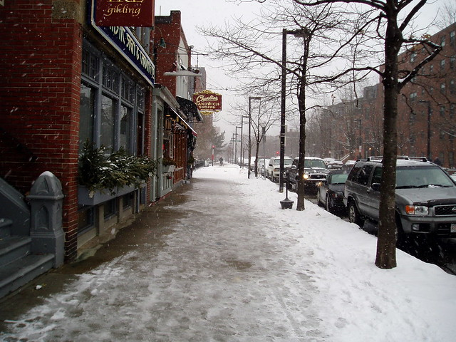 Boston Streets in the Snow