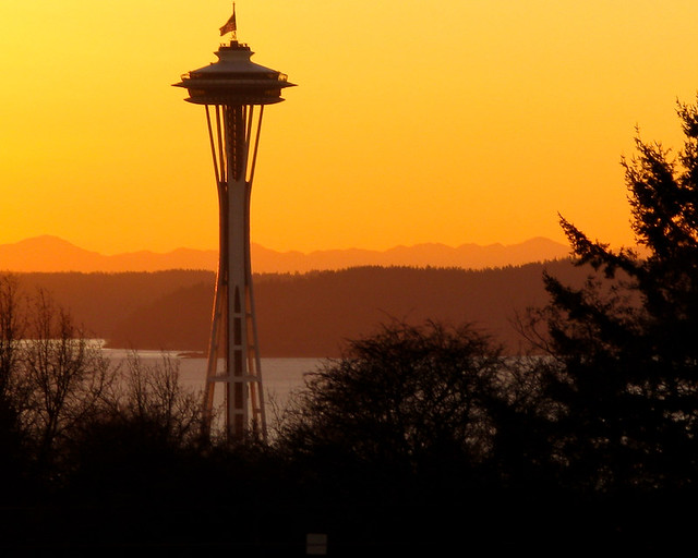 Space Needle from the