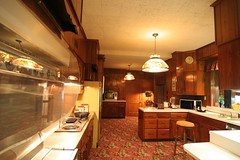 Graceland: Sweet 70's kitchen   by Chuckumentary