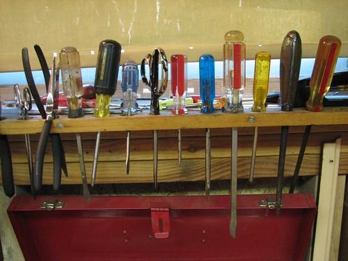 Tool rack   by 1lenore