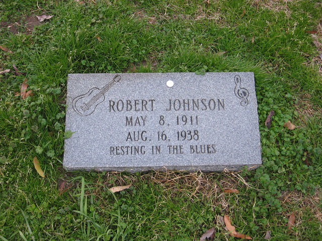 Robert Johnson grave (#2)