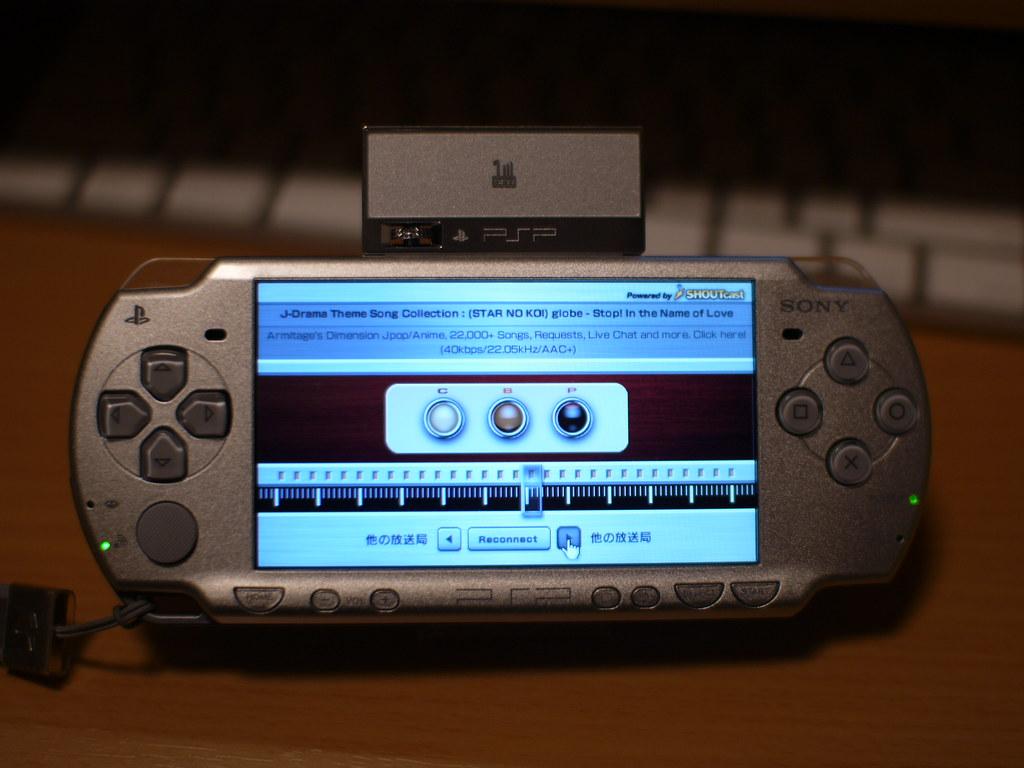 Psp internet radio player | version 3. 80 update. Sony also p… | flickr.
