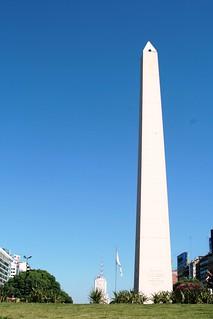 Obelisco, Buenos Aires, Argentina   by Carlos Adampol