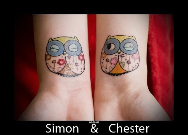 Tattoos; owls!