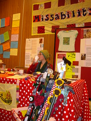 The Missability Radio Show stall at UK S'n'B Day