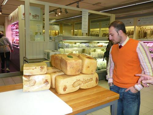 Eataly Turin (Italy)  Ragusano Cheese