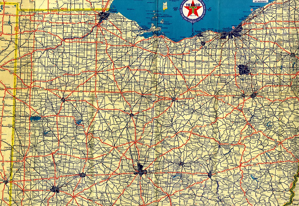 Terms Of Use >> Map of Ohio | You really need to view this large. This is th… | Flickr
