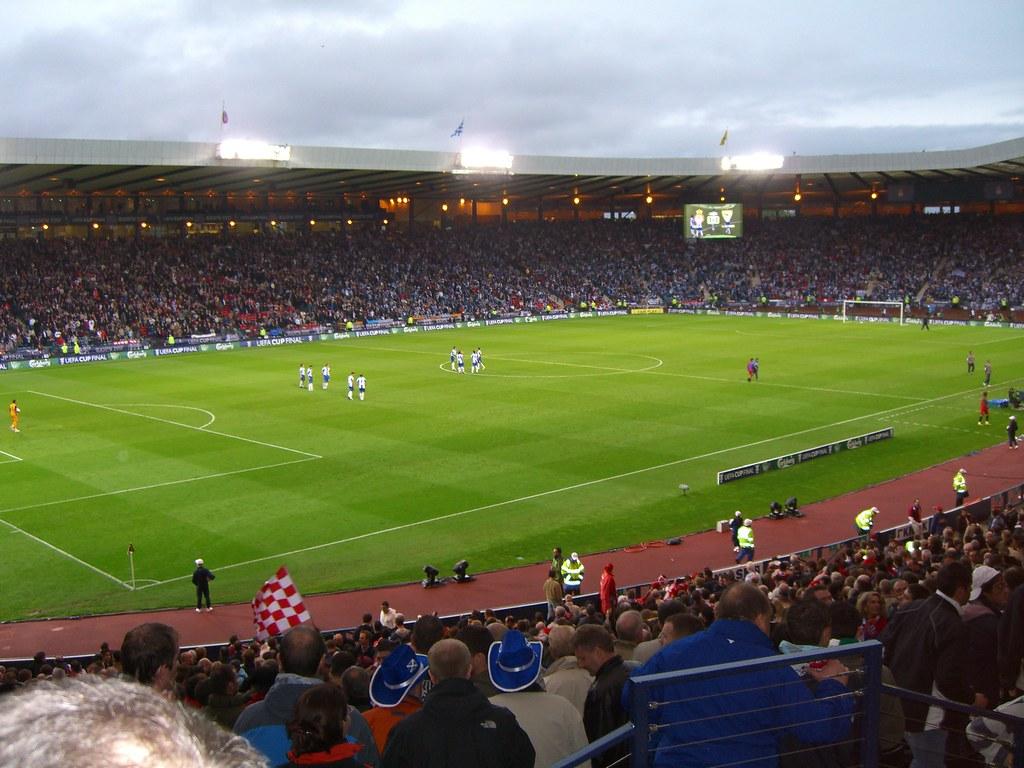 Espanyol out early - UEFA Cup Final 2007 - Hampden Park, Glasgow