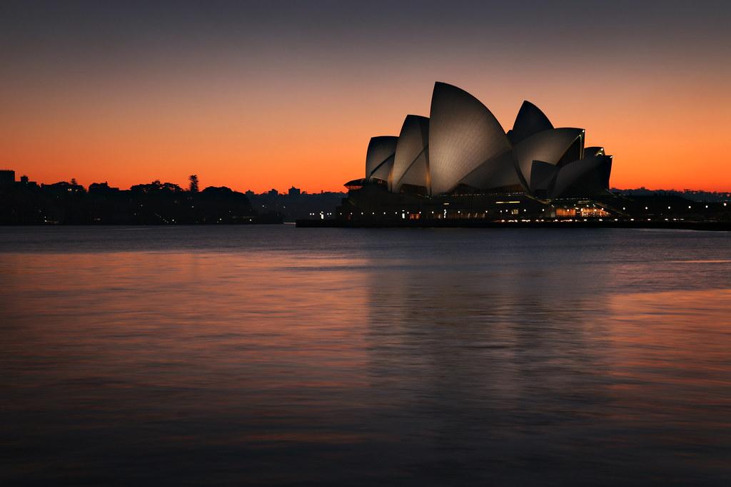 Sydney Opera House at Sunrise