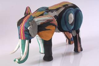 Large Champali Elephant FISC0082 | by uniqueco.designs (flipflopiwas)