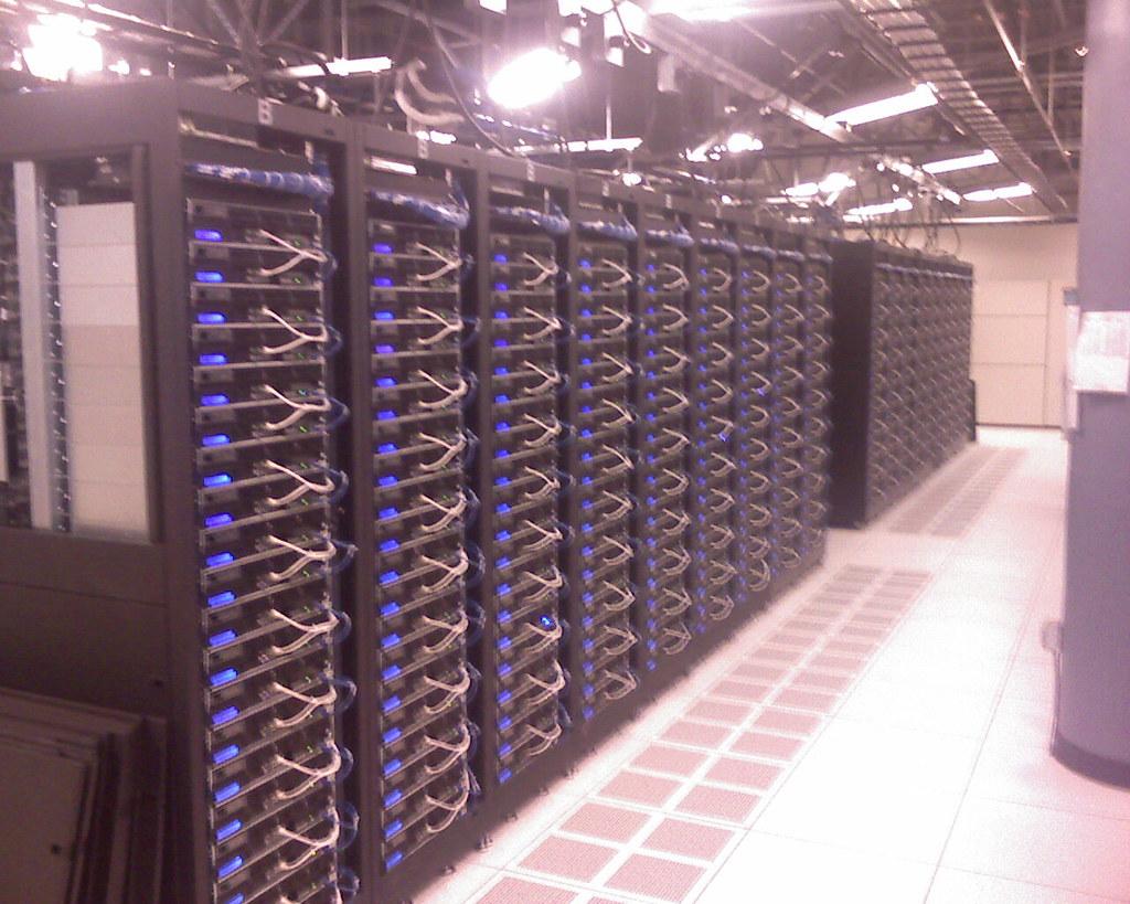 Facebook's server farm at 200 Paul