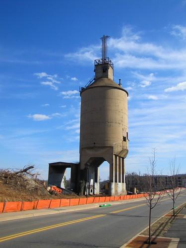 co chesapeakeohio railroad coaltower charlottesville virginia