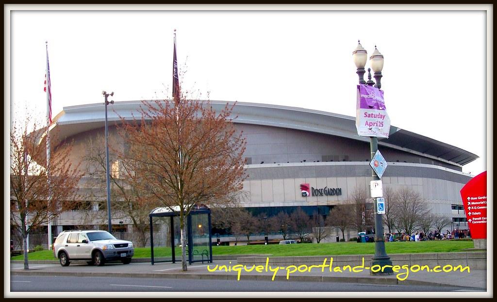 Portland Rose Garden Arena Portland Oregon Rose Garden Flickr