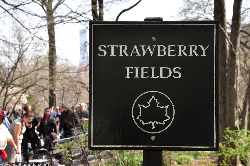Strawberry Fields Sign