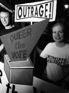 queer-the-vote | by outragelondon