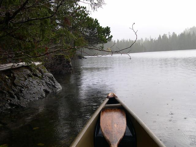 Gracie Lake - Rain and Mist
