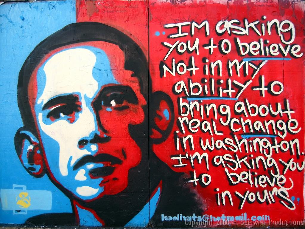 Barack Obama - Santa Fe Art District   Barack Obama by Koolh…   Flickr