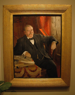 """""""Grover Cleveland"""" by Anders Zorn (1899) 