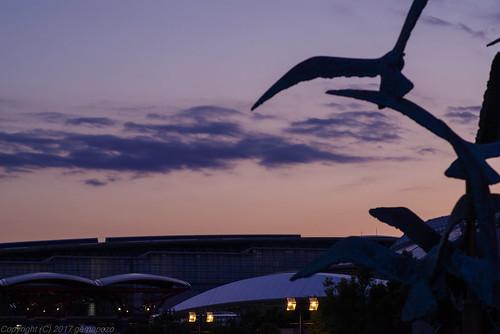 chiba makuharimesse sunset k1 sky twilight kaihinmakuhari japan pentax 千葉市 千葉県 日本 jp tamronsp90mmf2811macro 海浜幕張 幕張メッセ 夕暮れ tamron72e