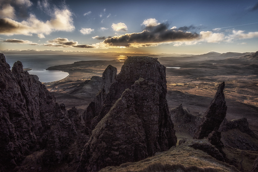 Sunrise from the Quiraing