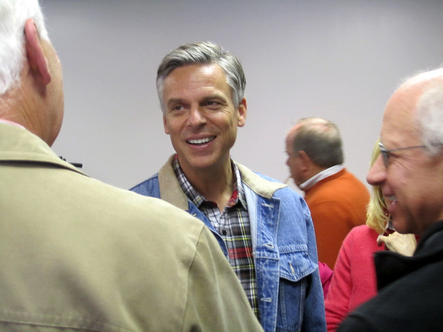 Jon Huntsman in Windham