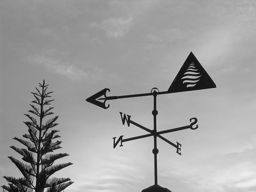 Weather Vane near Mount Kinabalu-Borneo-Malaysia