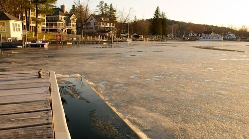lake ice spring dock newhampshire 1755mmf28g sunapee lakesunapee sunapeeharbor