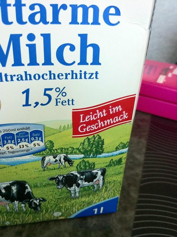 Haltbare Milch