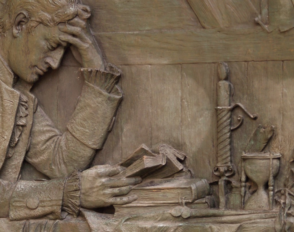 Studying Homeopathy: Bas Relief Detail Of Charles Henry Ni… | Flickr