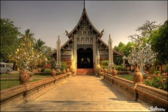 Chiang Mai Temple | by shapour bahrami