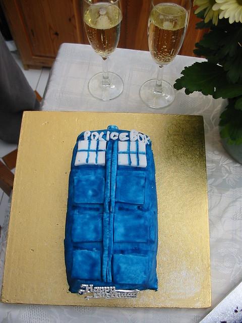 img_2609 - Tardis Birthday Cake