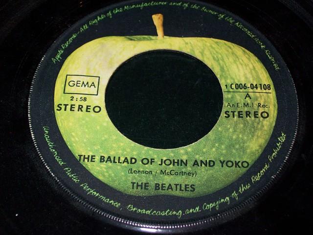 The Beatles single disc