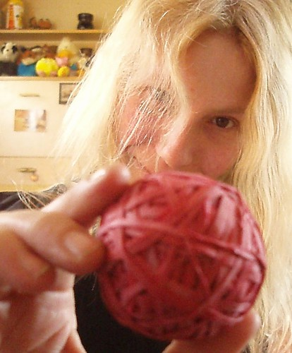 Today, I have mostly been working on my red-rubber-band ball | by ~Misty~