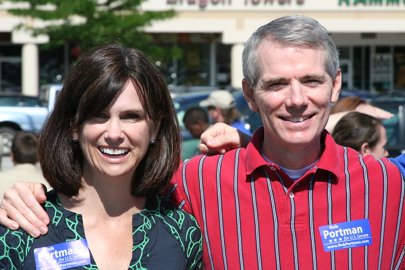 Rob Portman and Jane Portman