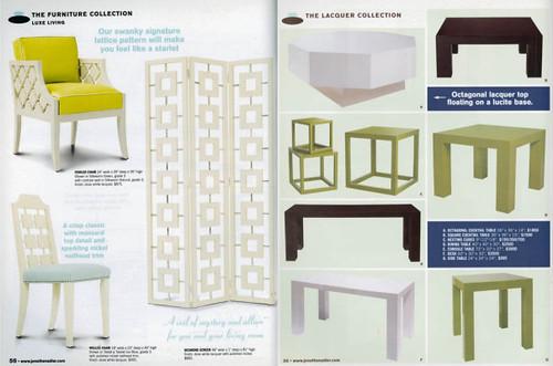 Inspiration from the Jonathan Adler catalog...