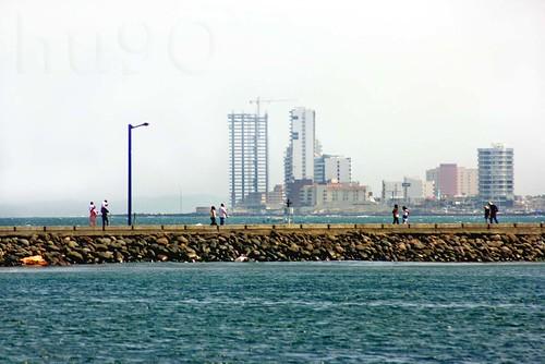 Caminando entre los mares