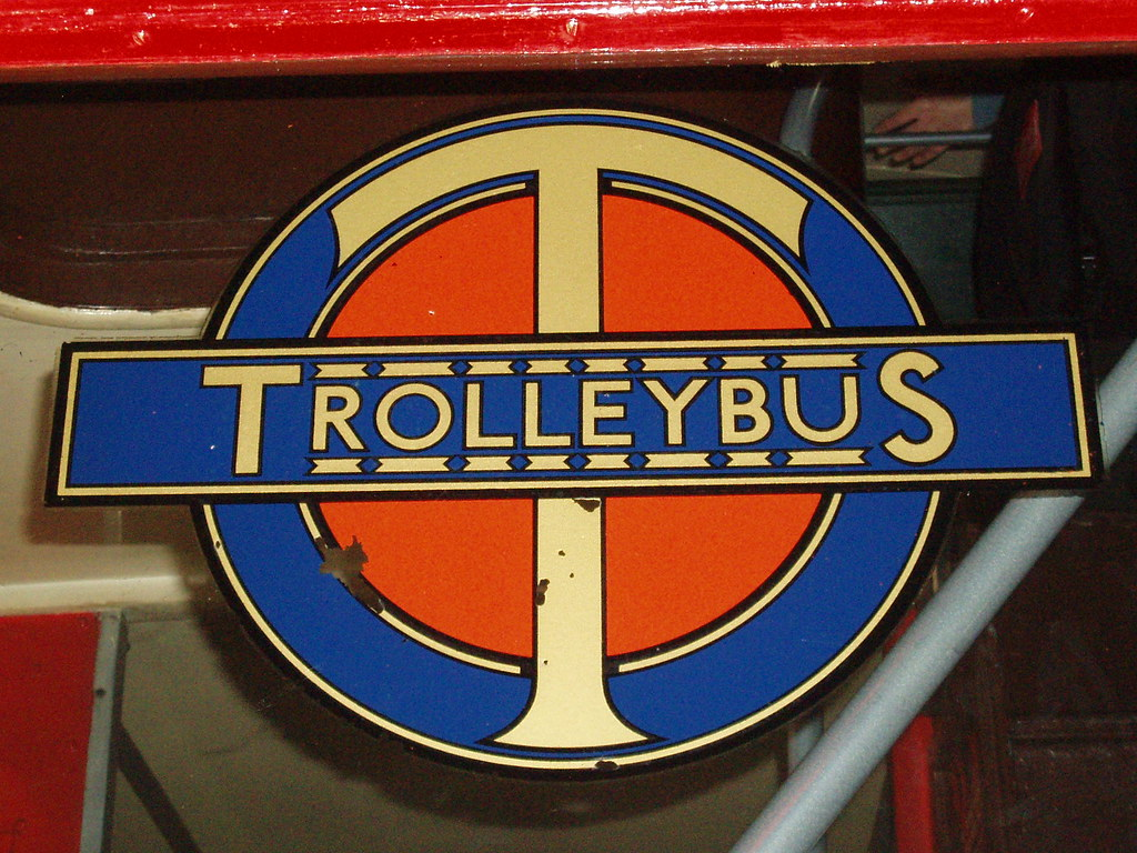TrolleyBus Logo London Transport Museum