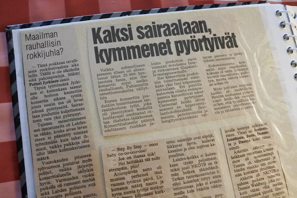 NKOTB in Lahti