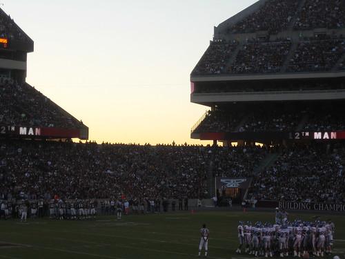 usa sport am texas kansas collegestation texasam aggies collegefootball kylefield aggieland