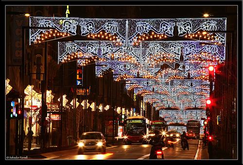 Navidades en Granada, Gran Via de Colón