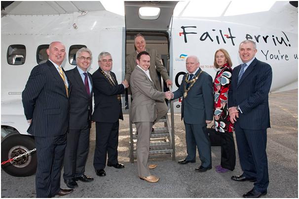 Manx2 expands Into Ireland