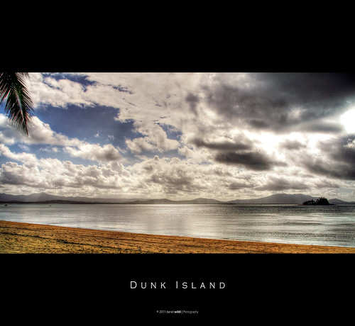 Dunk Island Australia: View From Dunk Island Onto The Australian
