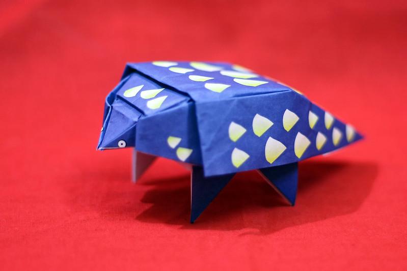 Origami Ankylosaurus